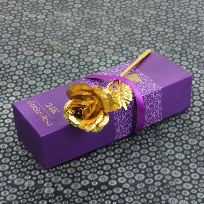 Golden Rose 6 Inch - Valentine Day Gift