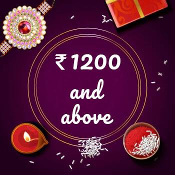 Buy Rakhi Online Above 1200