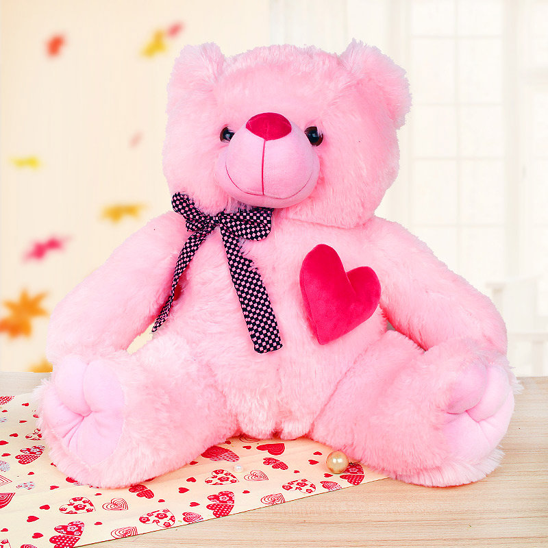 22-inches pink teddy bear - 1st gift of Adorable Expressions