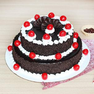 2 Tier Black Forest Cake 3 KG