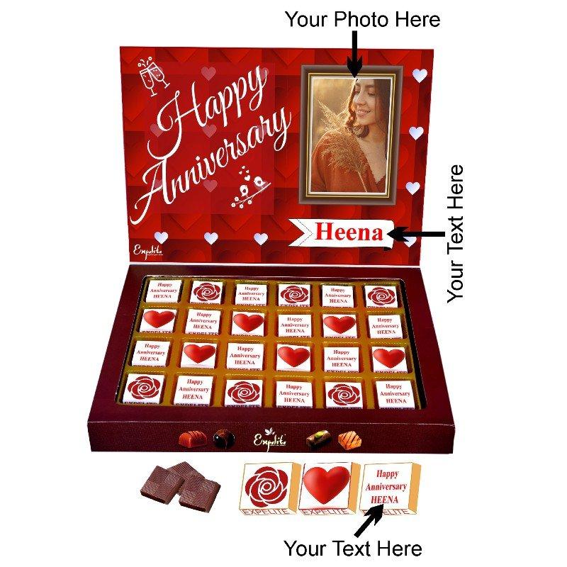 25 Anniversary Choco Box Her