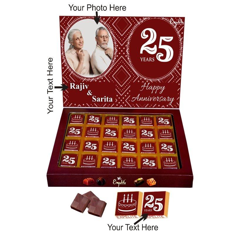 25Th Anniversary Chocolate Box