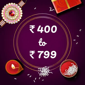 Buy Rakhi Online From 400 To 799