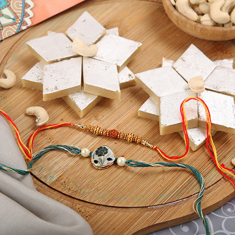 Rakhi with Sweet - One Day Delivery in India