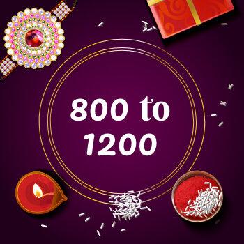 Buy Rakhi Online From 800 To 1200