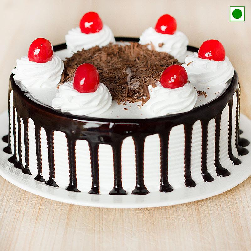 Black Forest Cake Eggless