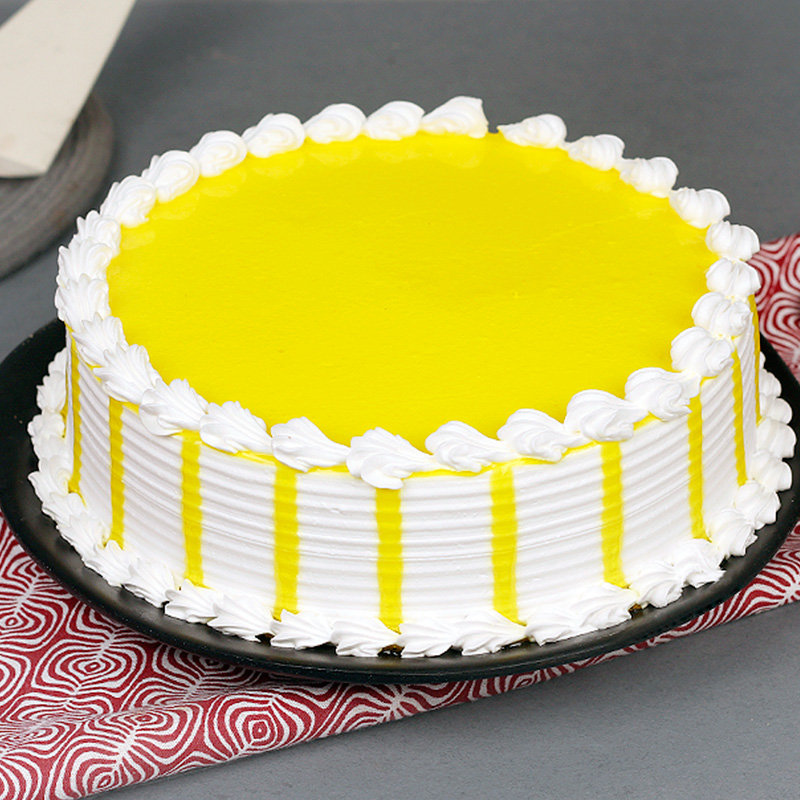 Half Kg Butter Scotch Cake with Closed View