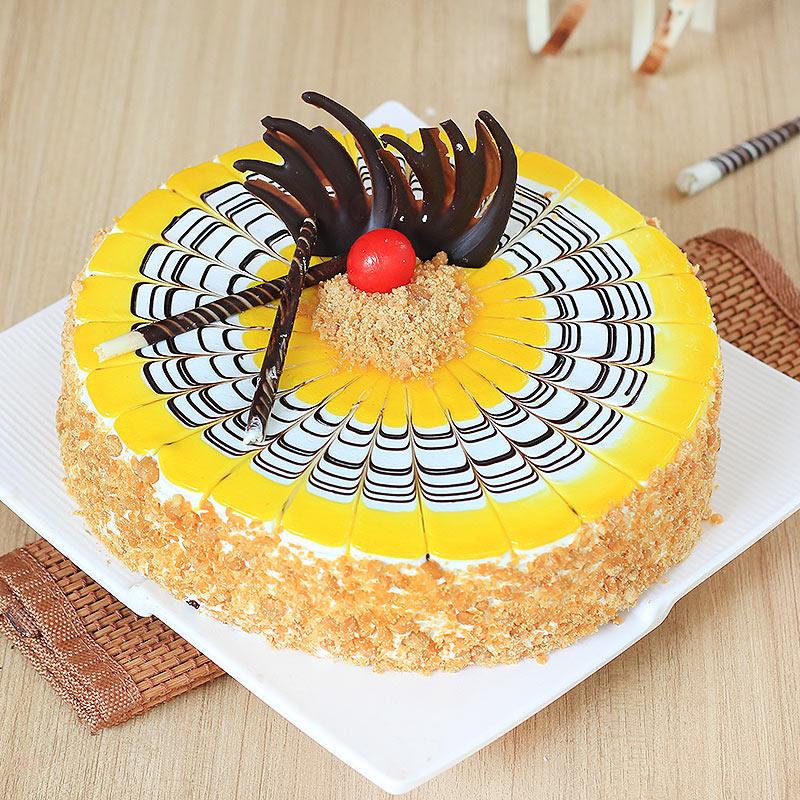 Butterscotch Cake 1 Kg Premium