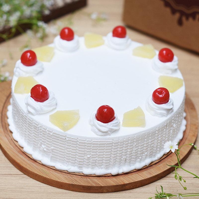 Pineapple Cake for Birthday