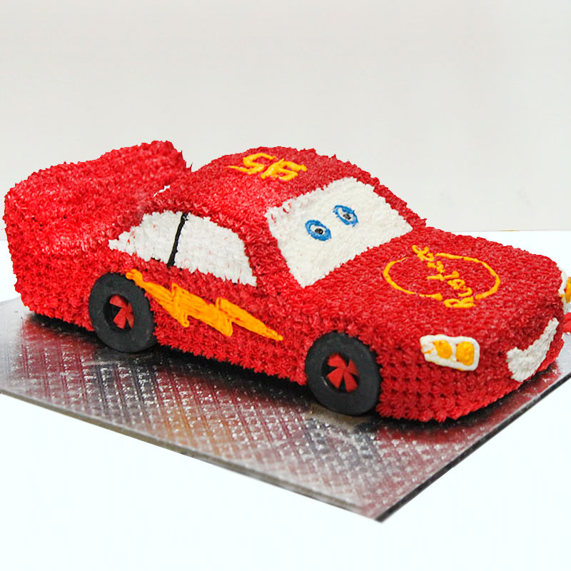 Car Designer Fondant Cake
