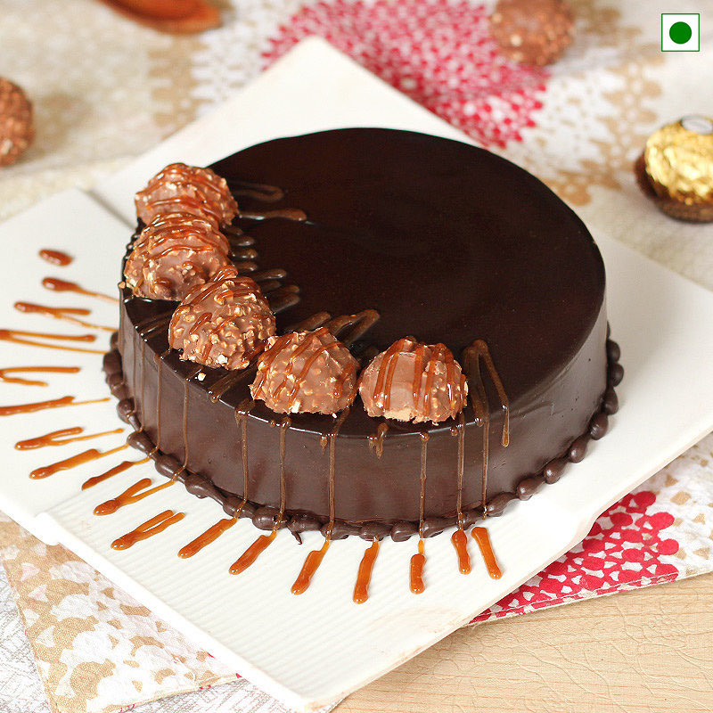 Chocolate Paradise Eggless Cake Delivery