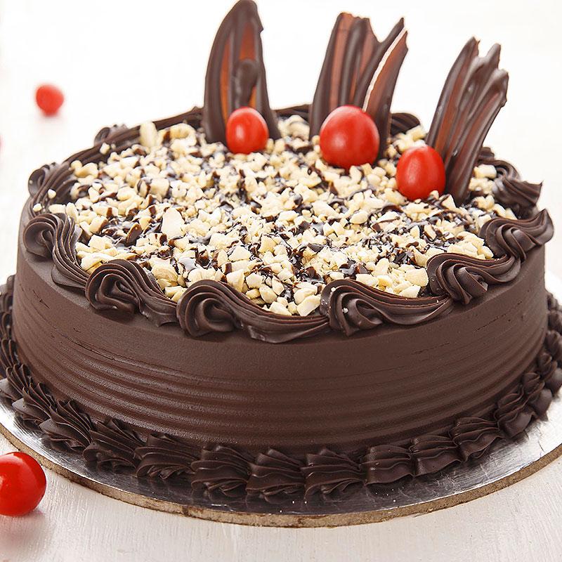 Choco Walnut Cake - Free Delivery