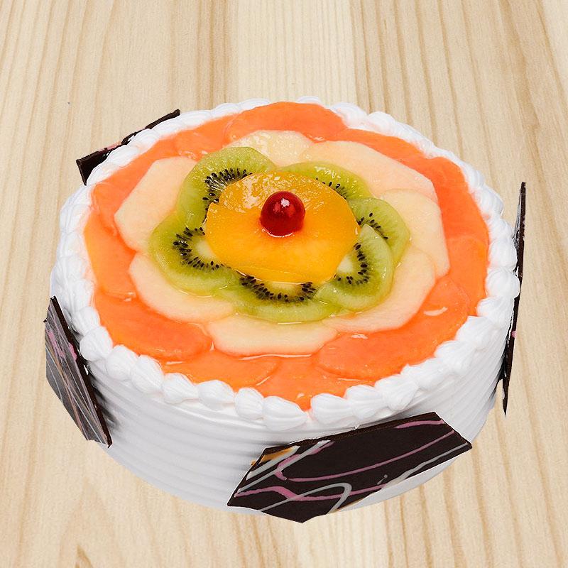 Overloaded Fruit Cake