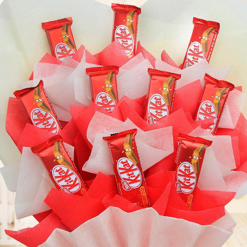 Zoom view of Love Guru Chocolate Bouquet
