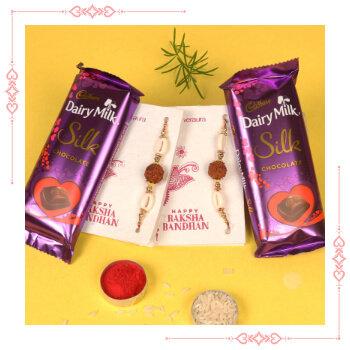 Send Online Rakhi With Chocolate