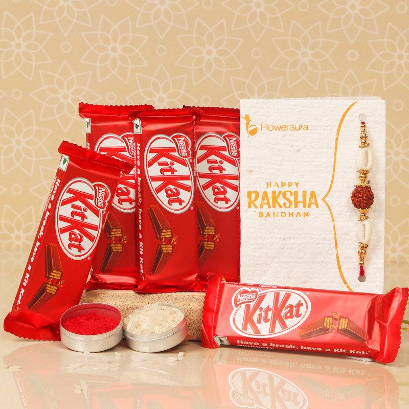 Sweet Rakshabandhan Gesture