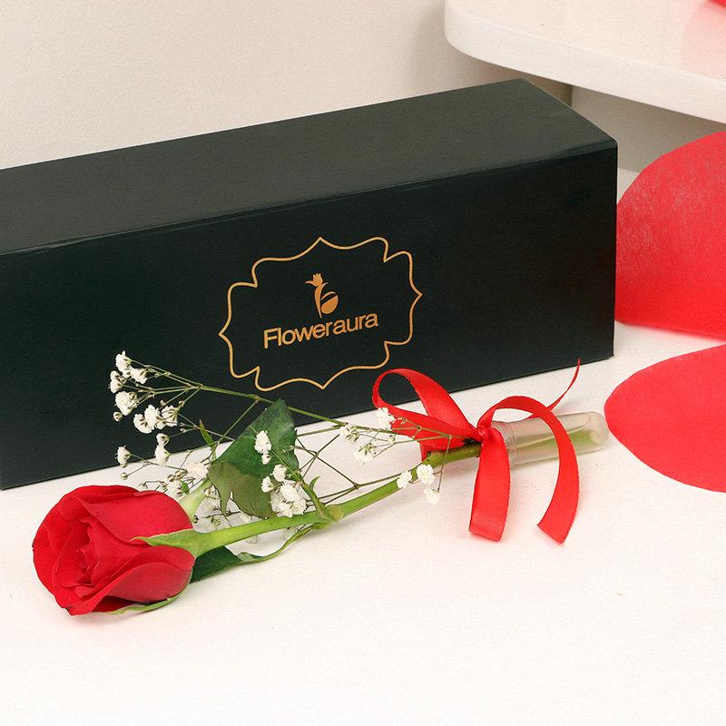 Send Rose in a Box Online in India