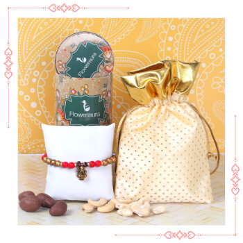 Rakhi with Dry Fruits Express Delivery