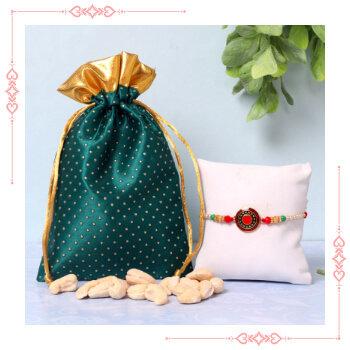 Send Online Rakhi With Dry Fruits