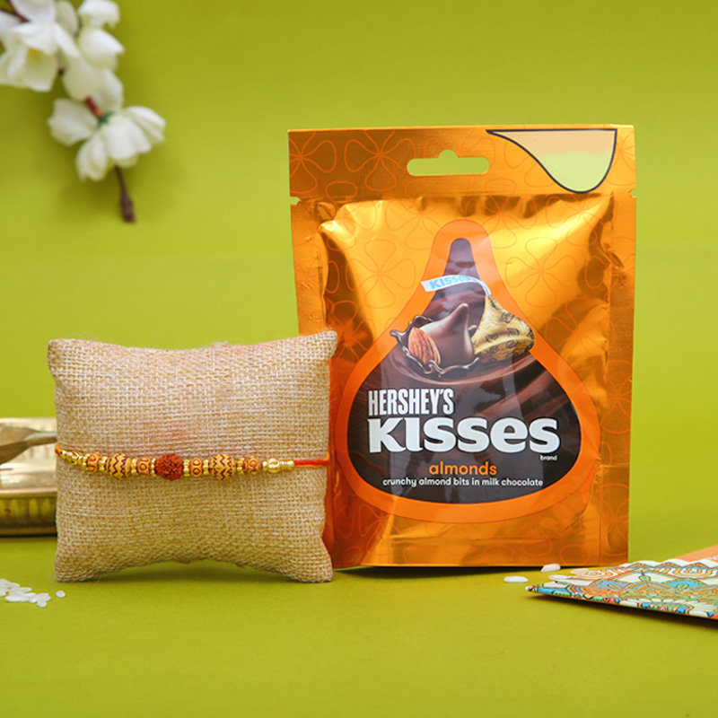 Order Rakhi and Hersheys Chocolates with Same Day Delivery