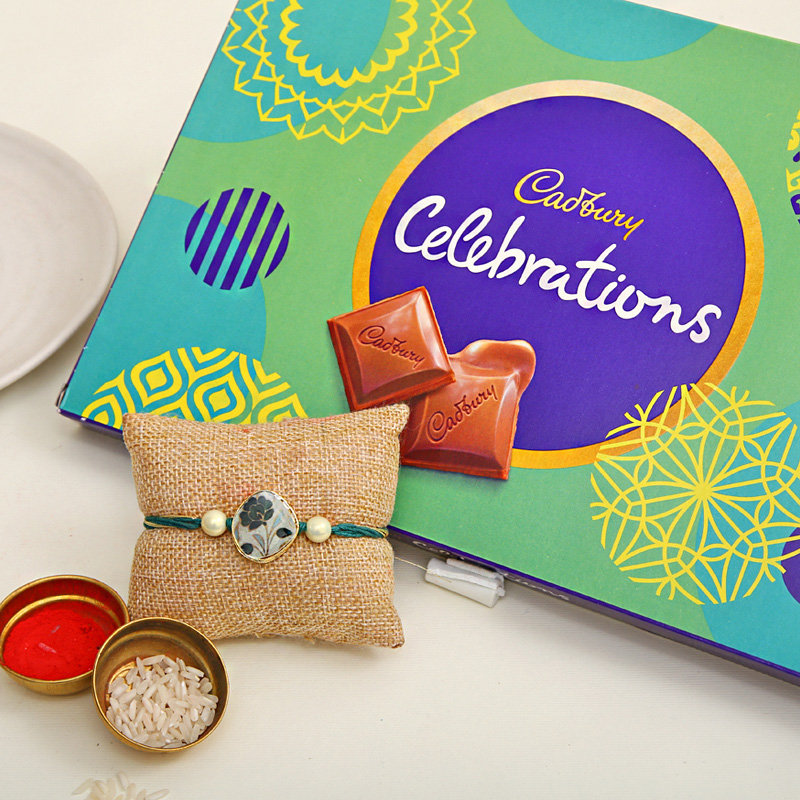 Rakhi with Chocolate - Order For Same Day Rakhi delivery