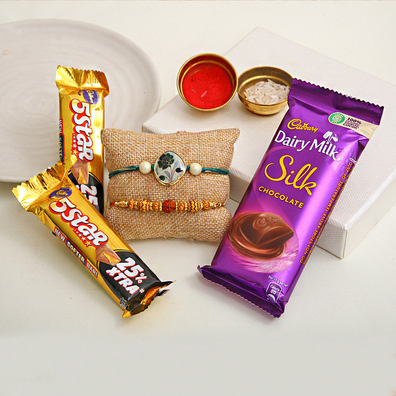 Rakhi Sweet Treat - Order for Fastest Rakhi Delivery