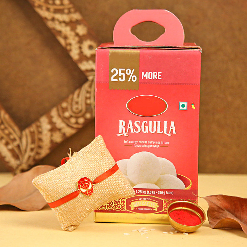 Chhota Bheem Rakhi Combo - Send Rakhi With Sweets Online