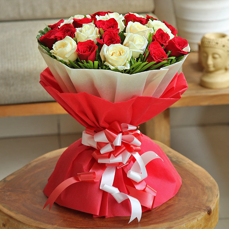 Send Rose Bouquet Online in India