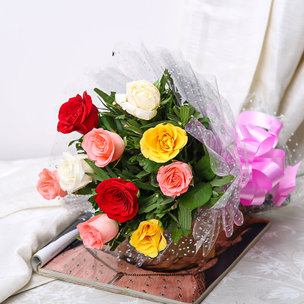 Roses Bouquet Online Flowers Delivery