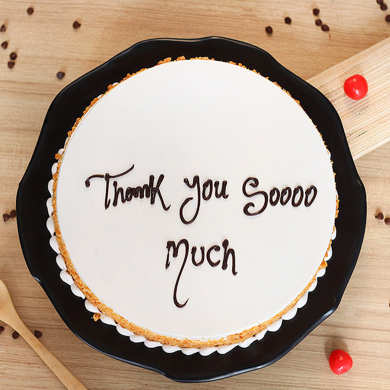 Thank You Daddy Cake with Top View