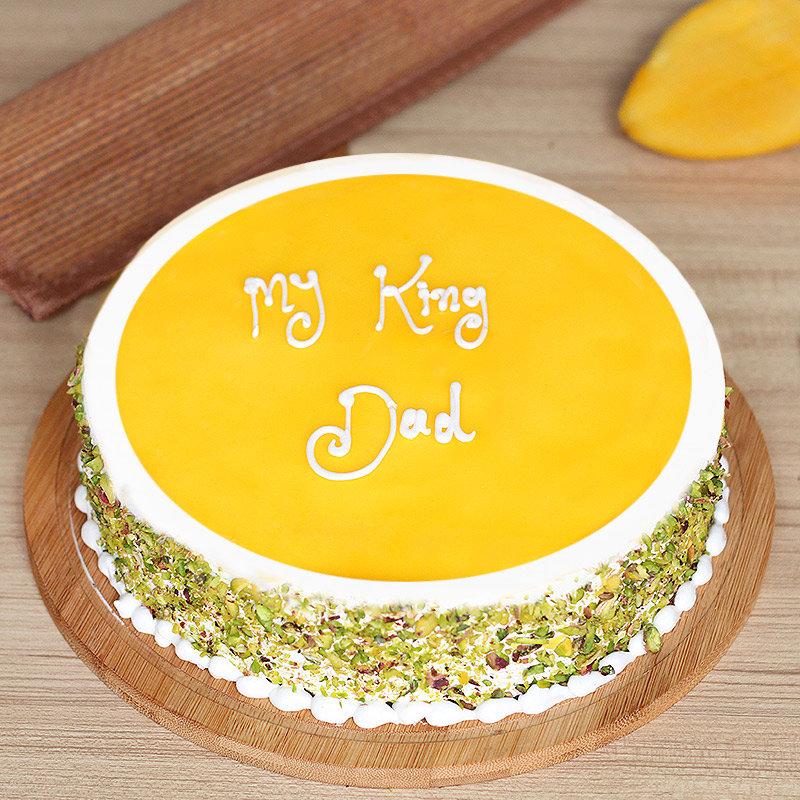 fathers day mango cake