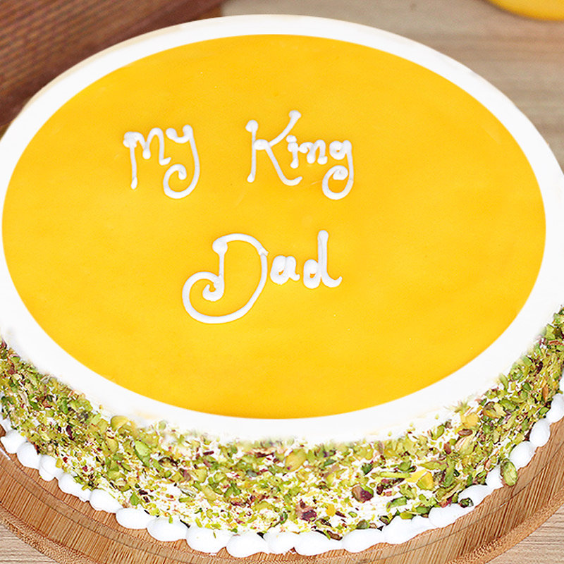 fathers day mango cake - Zoom View