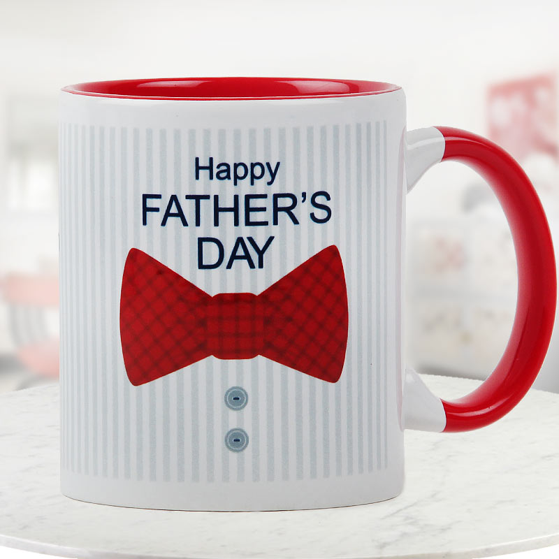 For the Most Handsome Man Quoted Fathers Day Special Duotone Mug
