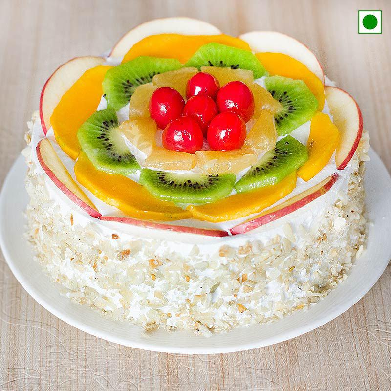 Fruit Cake Eggless