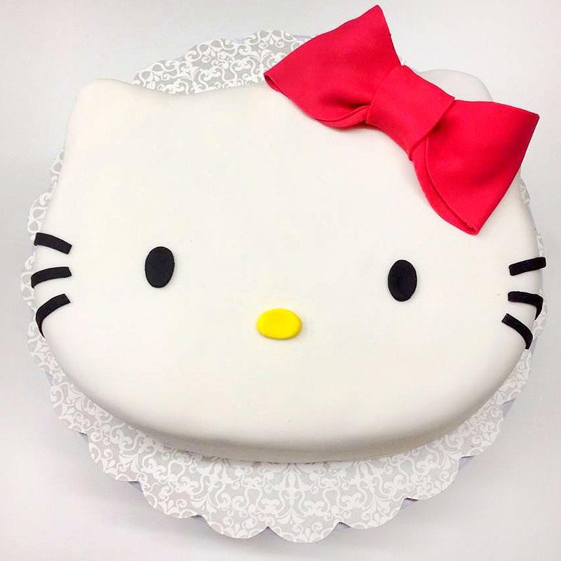 Hello Kitty Designer Fondant Cake