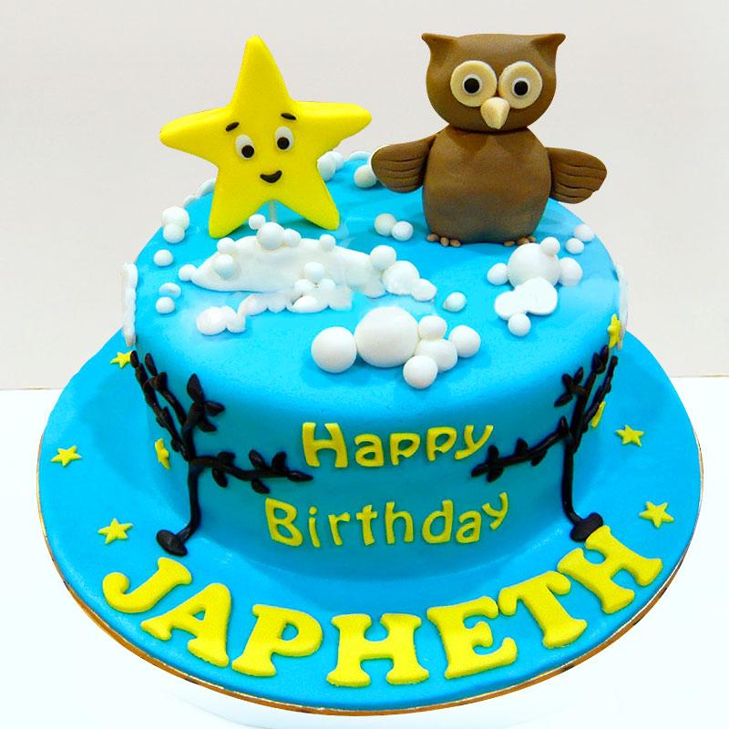 cute cartoon Designer Fondant cake