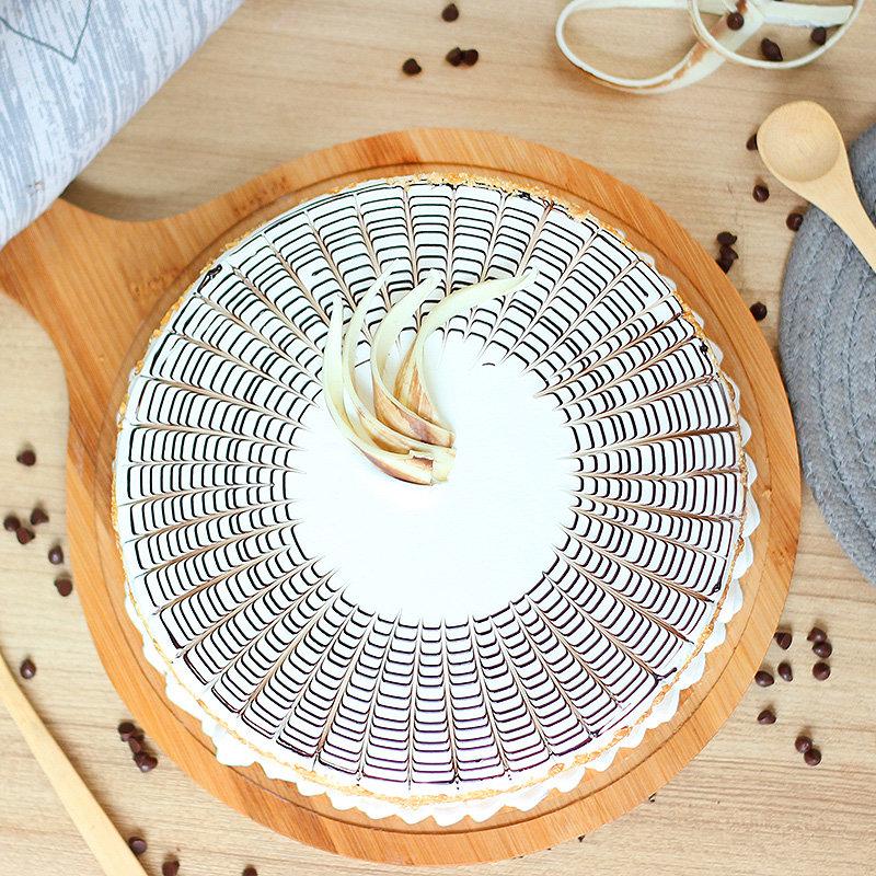 Delish Butterscotch Cake - Top View
