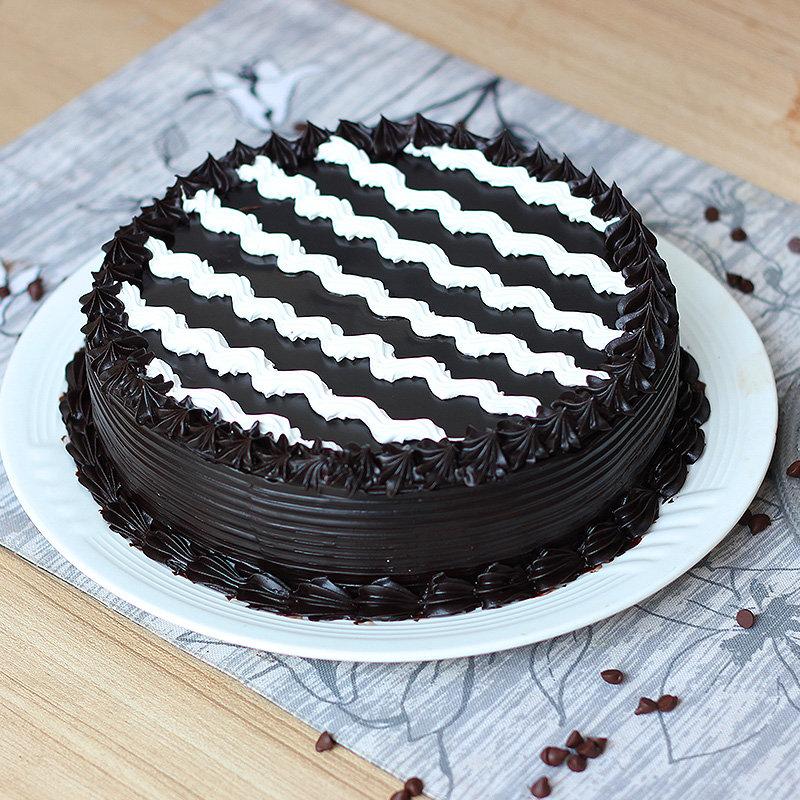 Supreme Choco Delight - A Chocolate Truffle Cake