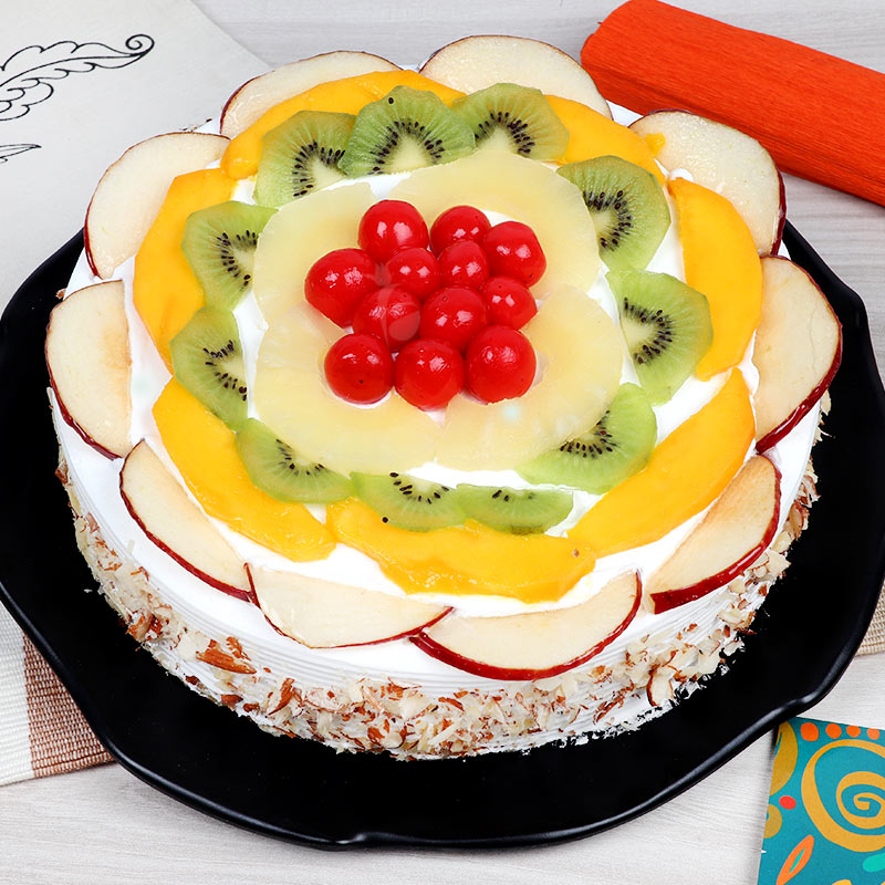 Fruit Cake - Zoom View