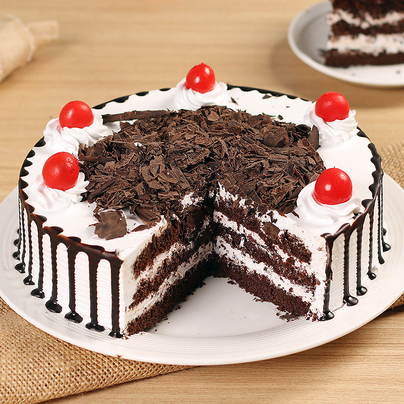 Luscious Black Forest Cake for Birthday