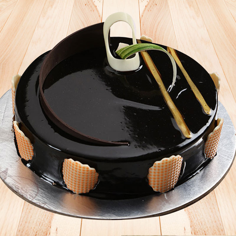 Rich Choco Truffle Cake