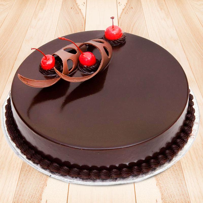 Sinful Chocolate Truffle Cake