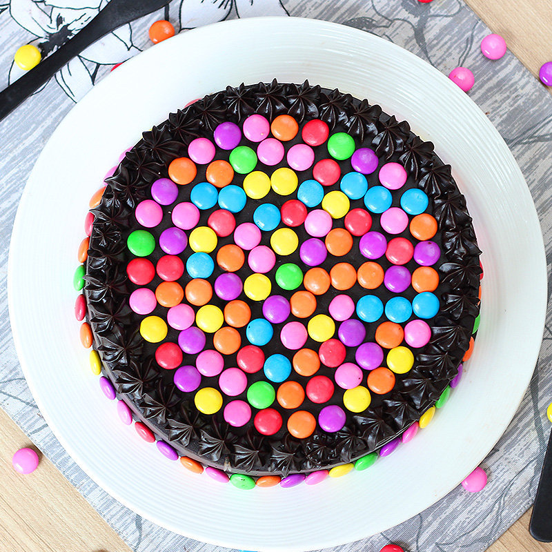 Eggless Choco Gems Cake delivery