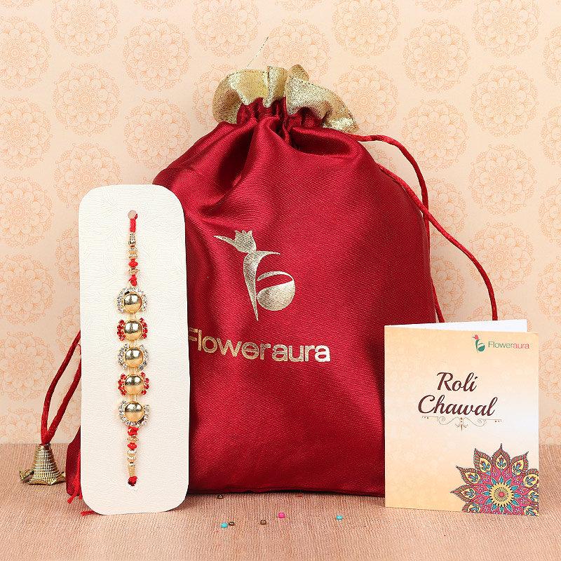 Online Graceful Dazzle Rakhi Delivery