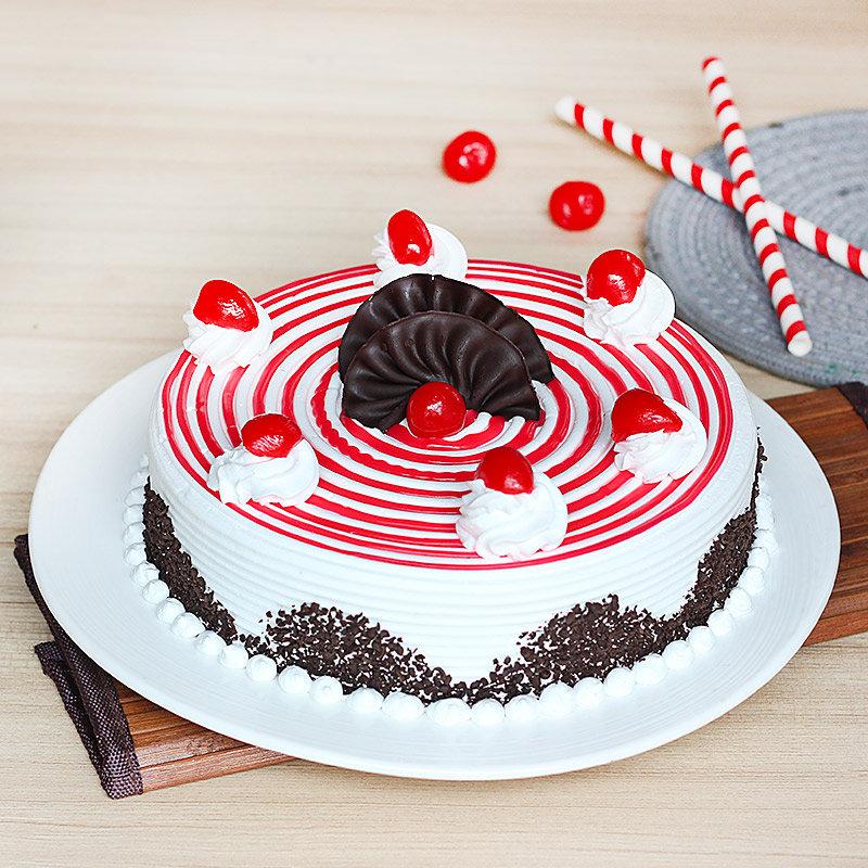 Strawberry Cake 1 Kg Premium 5 Star