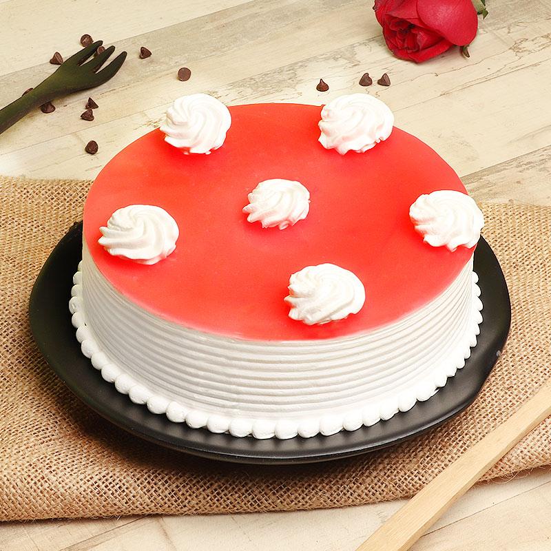 Strawberry Delicacy Cake