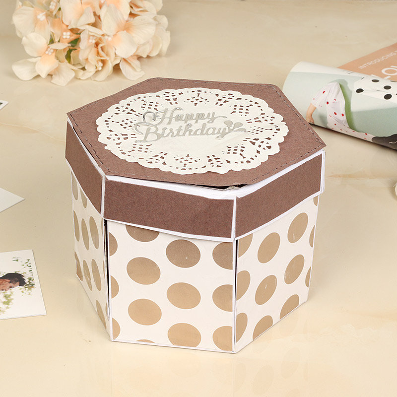 Personalised Explosion Box 3 Layer
