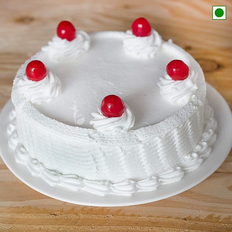 Vanilla Cake 1 Kg Eggless