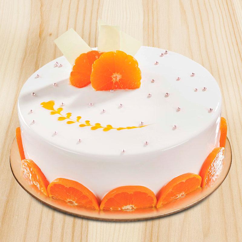 Heavenly Vanilla Fruit Cake