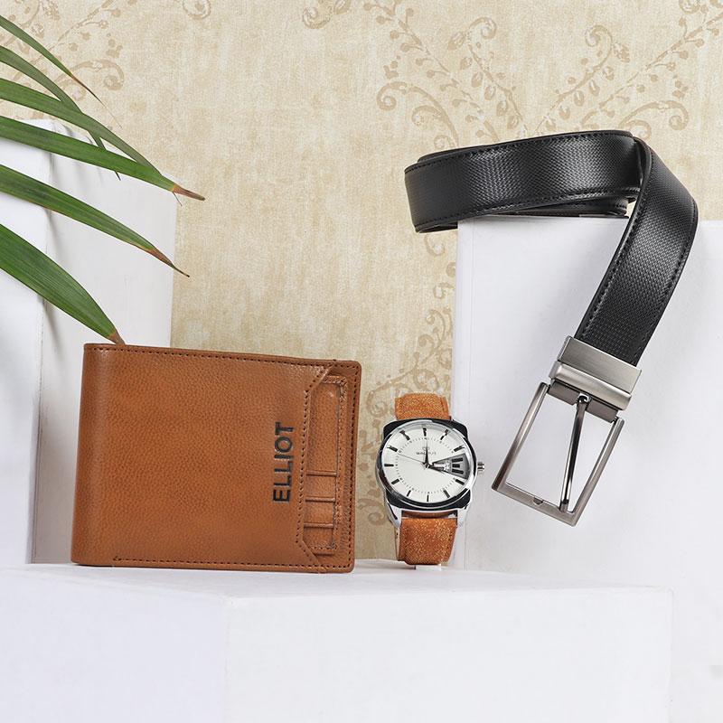 Watch Belt N Wallet Combo